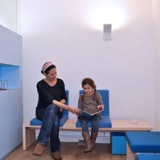 Unser modernes Wartezimmer